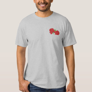 Rose Topper Embroidered T-Shirt
