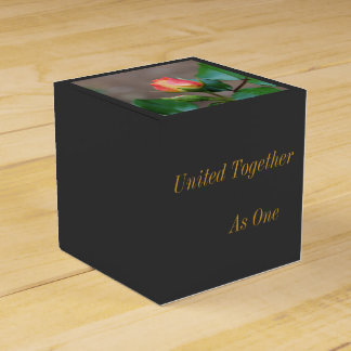 Rosebud Gift Box United Together as One Party Favour Boxes