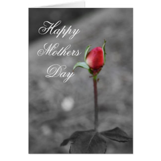 Rosebud Happy Mothers Day Card