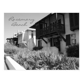 Rosemary Beach Black & White Postcard