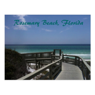 Rosemary Beach boardwalk view Postcard