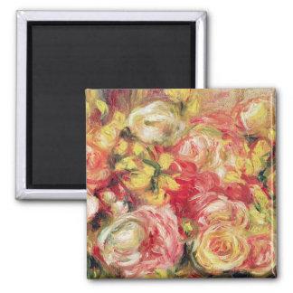 Roses, 1915 square magnet