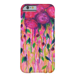 ROSES ARE RAD 2- Bold Pink Red Roses Floral Bouque Barely There iPhone 6 Case