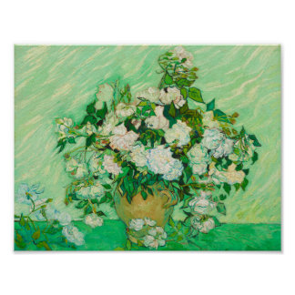 Roses by Vincent van Gogh Poster Print