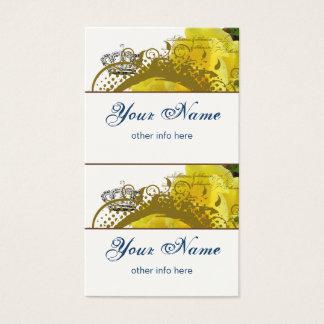Roses, Crown, Swirls & Butterflies Mini Tags