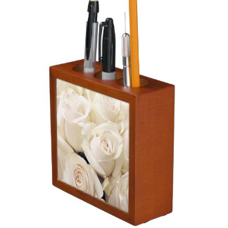 Roses every day desk organiser