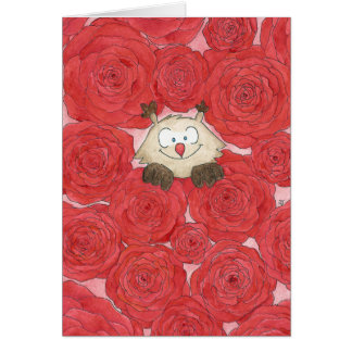 ROSES greeting card by Nicole Janes
