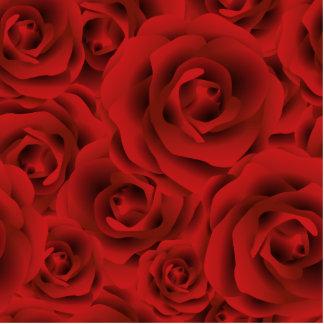 Roses Photo Sculpture Decoration