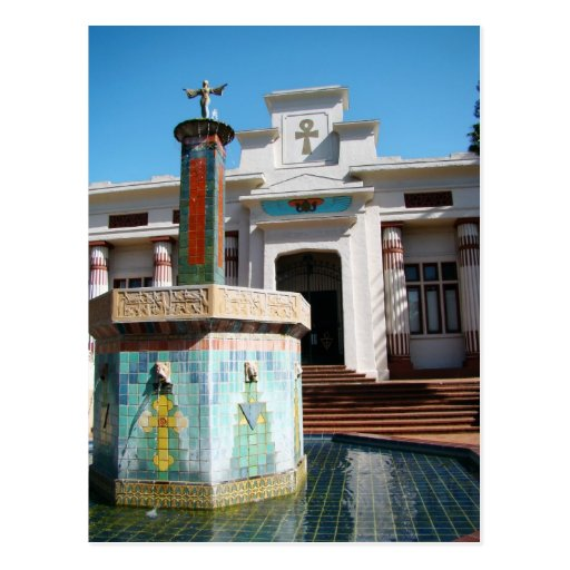 Rosicrucian Museum Post Cards
