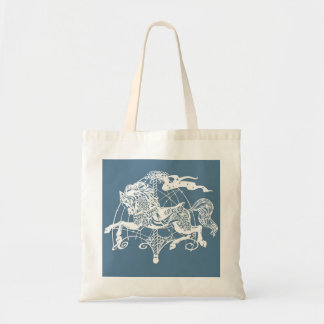 'Rosie' The Carousel Horse Organic Tote Bag