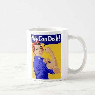 Rosie the Riveter graphic design Coffee Mug
