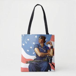"""Rosie the Riveter"" Tote Bag"
