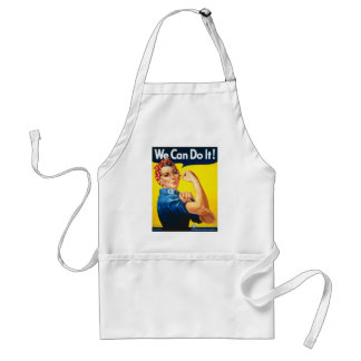 """Rosie the Riveter--""""We Can Do It"""" Apron"""