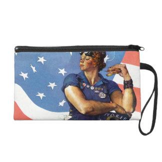 Rosie the Riveter Wristlet