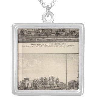 Rossville, Kansas Silver Plated Necklace