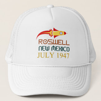 Roswell, New Mexico, july 1947 Trucker Hat