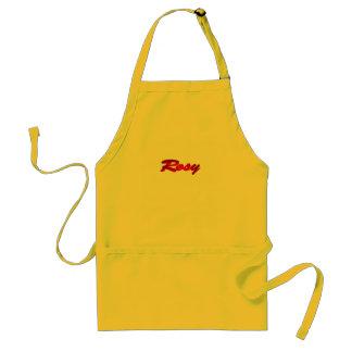 Rosy apron