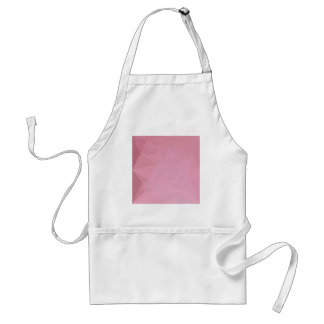 Rosy Brown Abstract Low Polygon Background Standard Apron