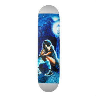 Rotten Stary night Skate Board