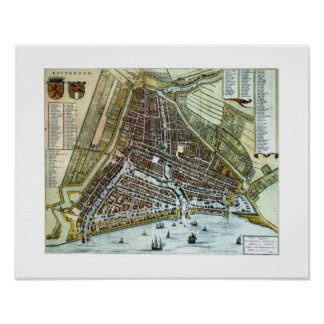 Rotterdam - 1652 poster