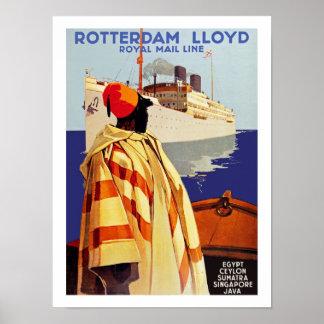 Rotterdam Lloyd Poster