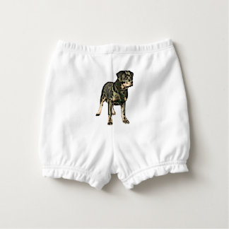 Rottweiler dog nappy cover