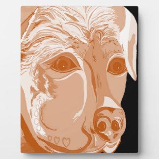 Rottweiler Sepia Tones Plaque