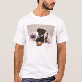 Rottweiller New Years Day T-Shirt