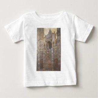 Rouen Cathedral 02 by Claude Monet Baby T-Shirt