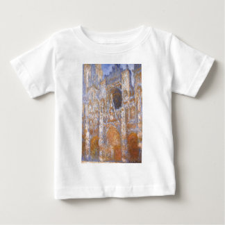 Rouen Cathedral, The Portal at Midday by Claude Baby T-Shirt
