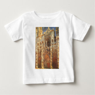 Rouen Cathedral, the Portal by Claude Monet Baby T-Shirt