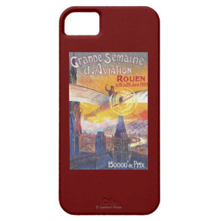 Rouen, France - Pilot and Plane Barely There iPhone 5 Case