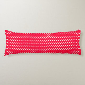 Rouge Polka Dots Body Pillow