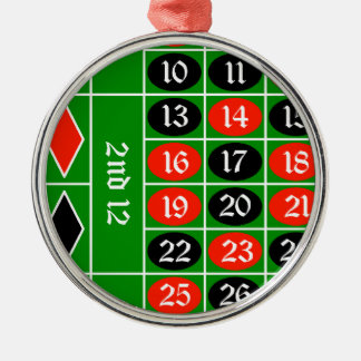 roulette2 christmas ornament