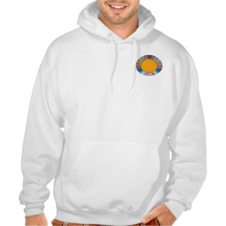 ROUND Artistic Artwork Positive Energy LOWPRICES Hoodie
