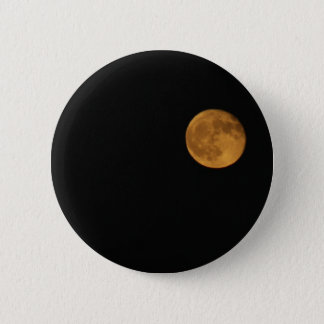 Round Button PHOTOGRAPH OF HARVEST MOON