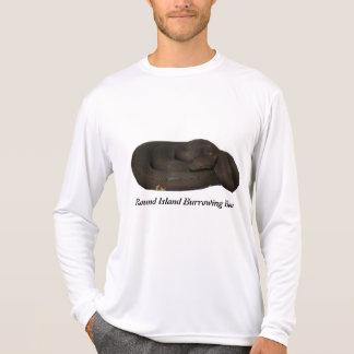 Round Island Burrowing Boa Micro-Fiber Long Sleeve T-Shirt