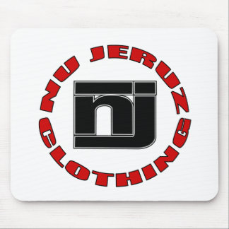 round logo mouse pad