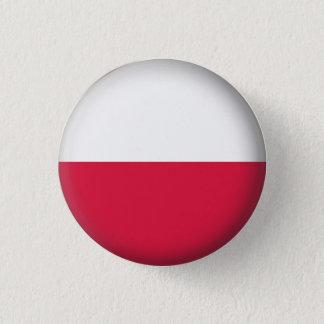 Round Poland 3 Cm Round Badge