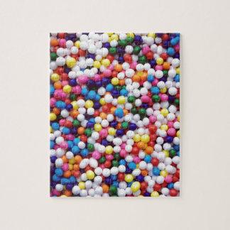 Round Sprinkles Jigsaw Puzzle