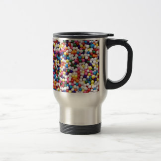 Round Sprinkles Travel Mug