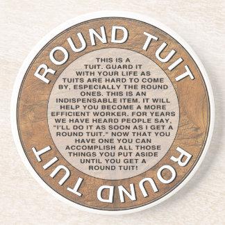 Round Tuit Coaster