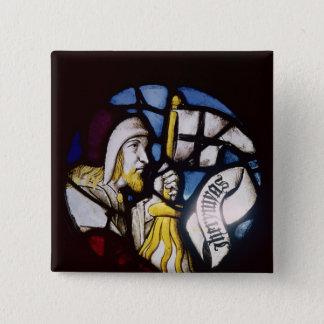 Roundel of the prophet Jeremiah, 15th century 15 Cm Square Badge