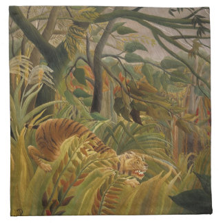 Rousseau's Tiger cloth napkins