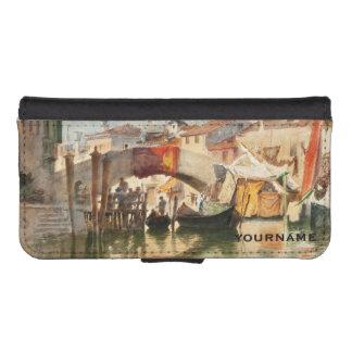 Roussoff's Venice custom phone wallets
