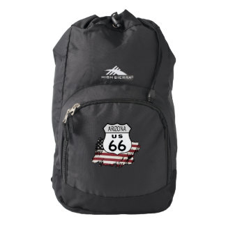 Route 66 Arizona Sign. Backpack