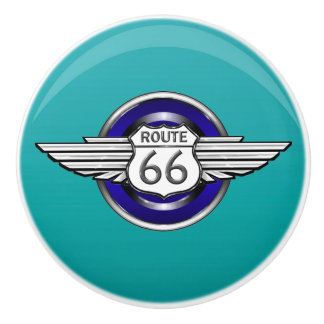 Route 66 Ceramic Knobs - SRF
