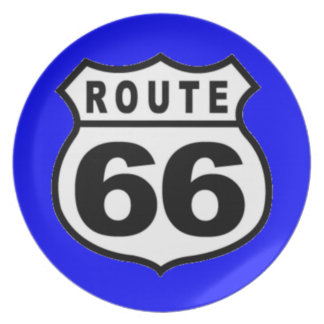 Route 66 Kitchen Plate