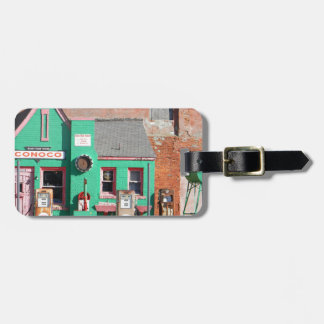 Route 66 Old Conoco Station Luggage Tag