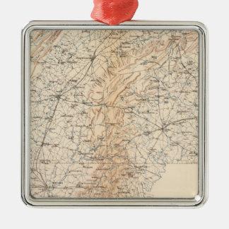 Route, Gettysburg campaign Christmas Ornament